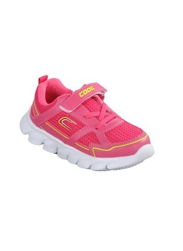 Cool 20-S03 Saks Çocuk Spor Ayakkabı Fuşya